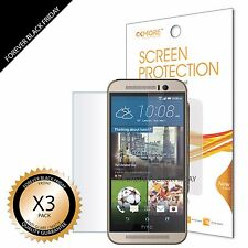 3x Anti-Glare Matte Screen Protector Guard Saver For HTC ONE M9
