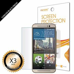 3x-Anti-Glare-Matte-Screen-Protector-Cover-Guard-Shield-Saver-For-HTC-ONE-M9