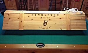 Details About New Pendleton Pool Table Wood Billiards Light 52