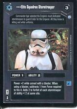 Star Wars CCG Endor Card Elite Squadron Stormtrooper