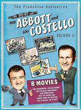 The Best of Bud Abbott  Lou Costello - Volume 3 (DVD, 2004, 2-Disc Set)