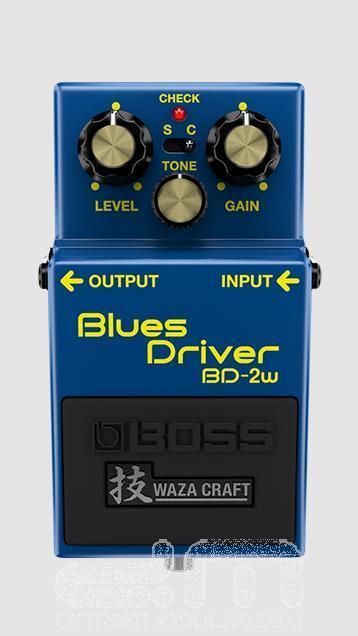 Boss BD-2W Waza Craft Blaus Driver   NEW