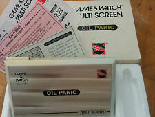 Super rare!! *Future tronics* 1982 (AU) NINTENDO GAME & WATCH OIL PANIC!!! OP-51