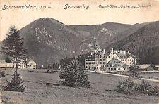 B7115 Austria NO Sonnwendstein Grand Hotel Erzherzog Johann Semmering