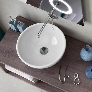 Lavabo bagno arredo bacinella appoggio 40 lavandino in - Mi bagno troppo ...