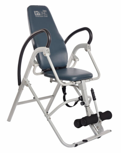 Stamina InLine INVERSION CHAIR TABLE Gravity Therapy Back Relief Stretch Bench