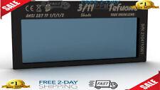 New Listingauto Darkening Welding Lens Shade 11 True Color Blue For Pipeliner Welding Hood
