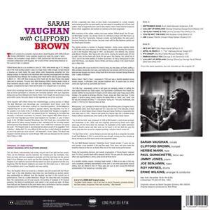 SARAH-VAUGHAN-SARAH-VAUGHAN-WITH-CLIFFORD-BROWN-VINYL-LP-NEU