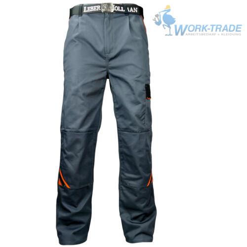 Arbeitshose Arbeitskleidung Hose Grau Schwarz Orange Profi Qualität Gr 46-60