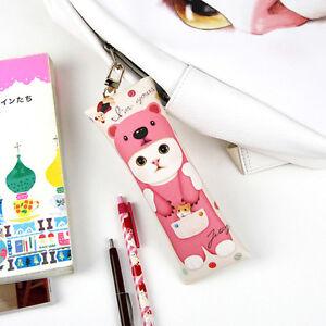 JETOY-Choo-Choo-Pen-Doll-Cute-Cat-Zipper-Pencil-Case-Light-Accessory-Pouch