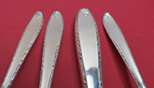 ALVIN Sterling Silver 4 Piece Place Setting 1947 SOUTHERN CHARM No Monos