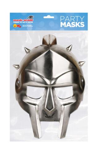 Mask-Arade-NUOVO Gladiatore Casco Heritage maschera Costume in tutto il mondo GRATIS P/&P