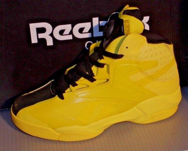 282fcda129a5 Mens Reebok Shaq Attaq Modern in Colors Yellow   Black Size 9 for ...