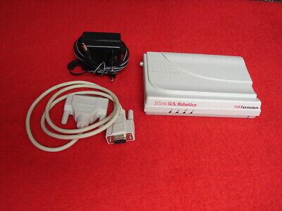 3com U.s. Robotics 56k Faxmodem / Datenmodem Mit Netzteil Und Datenkabel