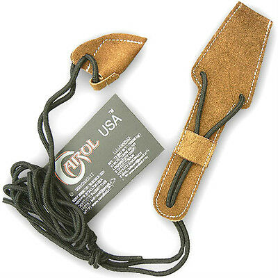 CAROL TRADITIONAL ARCHERY ACCESSORIE UNIVERSAL SUEDE LONGBOW STRINGER AA407