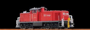 Brawa 41514 H0 Diesel Locomotive BR 294 Cargo DB V AC   Sound Digital Extra