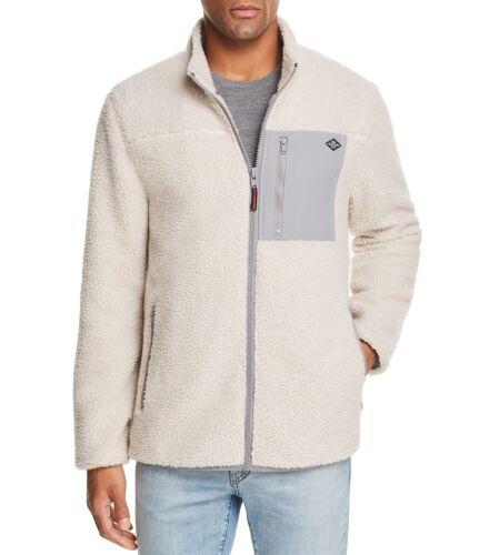 Flag /& Anthem Vinson Sherpa Jacket Oatmeal Grey Size XL