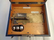 Spieluhr Polyphon mit Glocken und 20 Platten