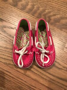 SPERRY TOP-SIDER Pink Sparkles BABY