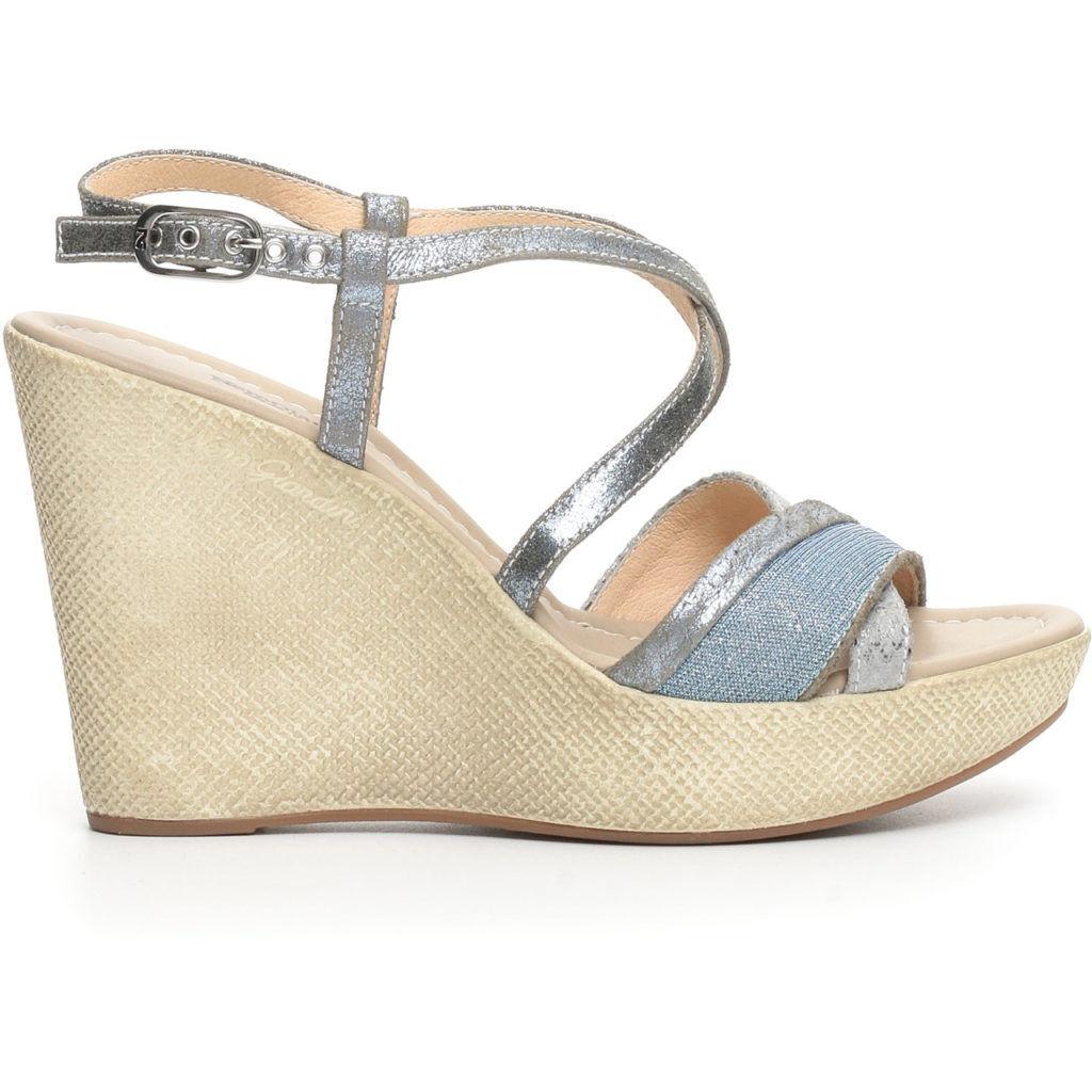 Sandalo estivo NeroGiardini nuova collezione P717622D pelle made in Italy Italy in 9d3ee7