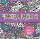 Peaceful Paisleys Adult Coloring Book (31 Stress-Relieving Designs) by Peter Pauper Press (Paperback / softback, 2015)