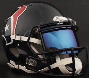453d9d92 Details about HOUSTON TEXANS NFL Gameday REPLICA Football Helmet w/ SHOC  2.0 Eye Shield