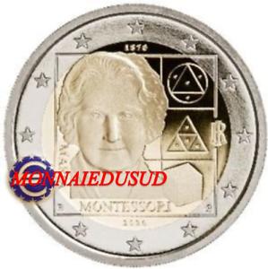 2-Euro-Commemorative-Italie-2020-Maria-Montessori-UNC-NEUVE