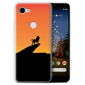 Gel-TPU-Case-for-Google-Pixel-3a-Minimalist-Movie-Art-Lion-Inspired
