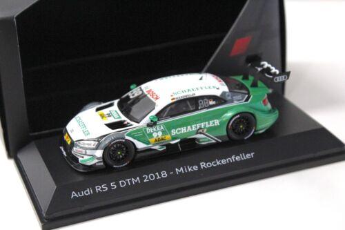1:43 Spark Audi RS5 DTM 2018 Mike Rockenfeller DEALER NEW bei PREMIUM-MODELCARS