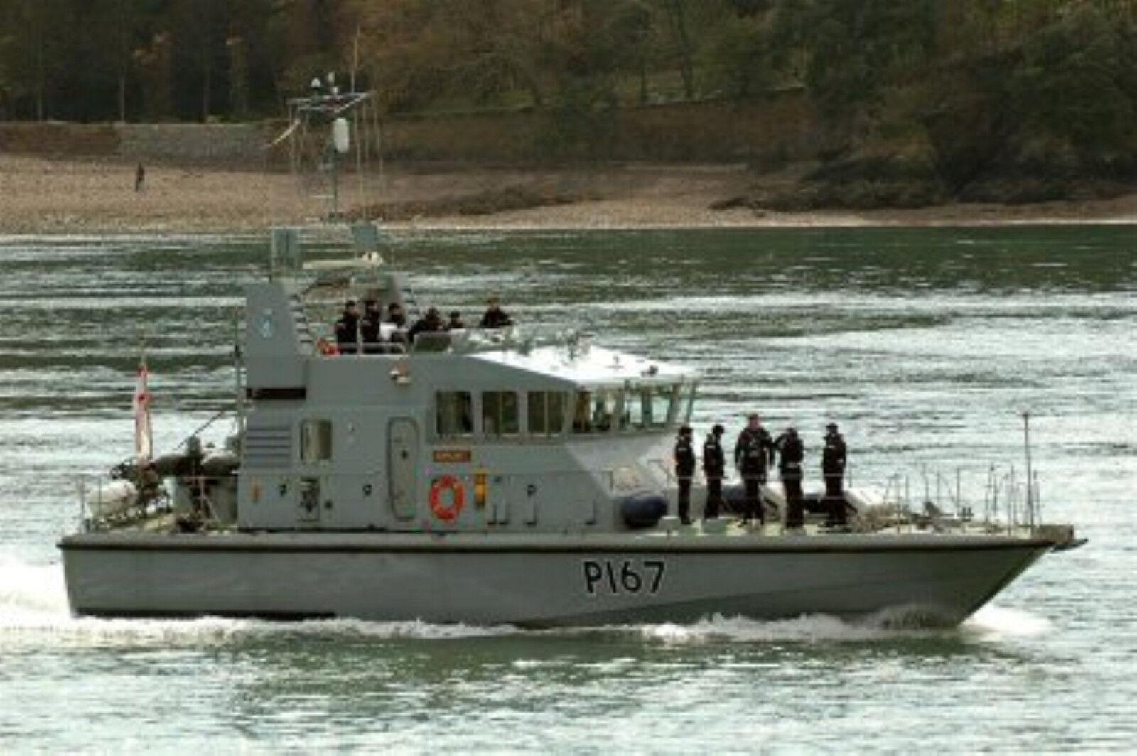 HMS exploit rnxs P P P 167. britannique Patrouilleur. Modèle Plan de bâtiHommes t 93c6aa