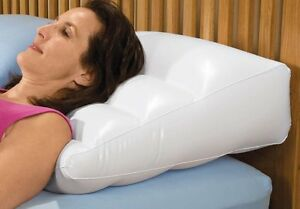 Inflatable Bed Wedge Pillow With Cover Ebay