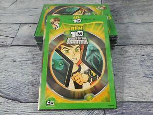 Ben 10 Secret of the Omnitrix (DVD) FACTORY SEALED Pack of 4