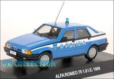 1:43 Polizia italiana / Police - ALFA ROMEO 75 - 1.8 I.E.- 1988 _(28)