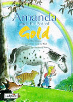 """AS NEW"" Magee, Wes, Picture Stories: Amanda & the Pot of Gold, Hardcover Book"