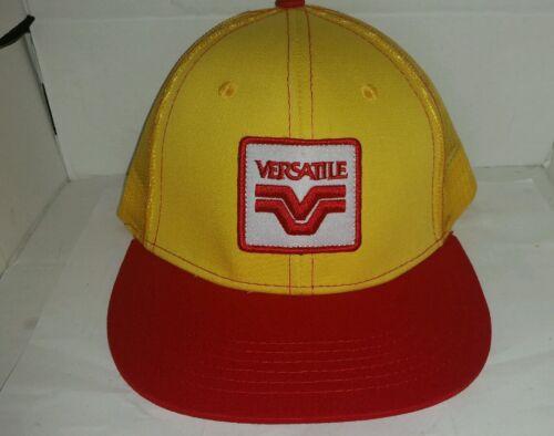 VERSATILE 4WD TRACTORS THROWBACK LOGO MESH Trucker Hat Cap BRAND NEW LICENSED