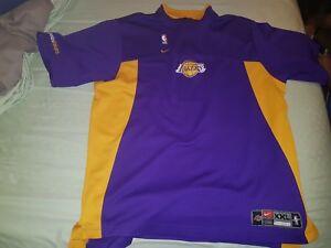 07e82f3e0 Image is loading Vintage-Nike-Los-Angeles-LA-Lakers-Authentic-Warmup-