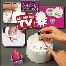 Nail Perfect Manicure Kit Plus 200 Nail Decals Beauty & Nail Care