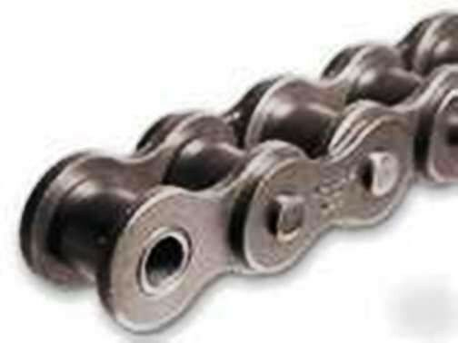 "#40SS 40SS-1R 1//2/"" Stainless Steel Roller Chain 10 Ft Box With Connecting Link"