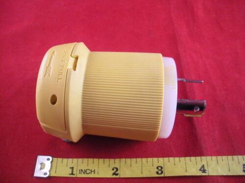 Hubbell HBL23CM11 Male Connector Body Adapter 20a 125v Twist Lock Plug L5-20P