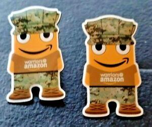 """2 neue """"Krieger des Amazonas"""" Mitarbeiter peccy Pins Militär Armee Soldat Veteranen"""
