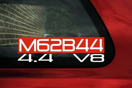 M62b44 4.4 v8 Sticker Adesivo for BMW 4.4l e38 740i e39 540i e31 840ci TUNING