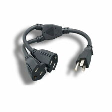 Lot 10 Extension AC Power Cord Cable V1625 142263-003 18AWG 10A 250V PC Monitors