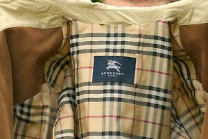 Herren Steppjacke Zu London Coat Jacke Langjacke Beige 52 Gr26 Details Burberry WD9bEHeIY2