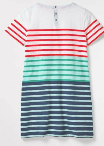 Ex White Stuff Cotton Jersey Tunic Top Stretch Casual Soft Stretch Ladies Summer