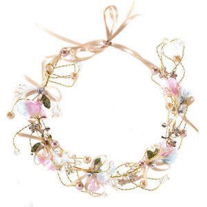 Cute-Wedding-Pearl-Hair-Accessory-Bride-Headband-Flower-Hairband-Girls-Garland