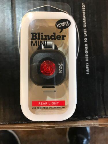 Knog Blinder Mini Usb Recharge Rear Light