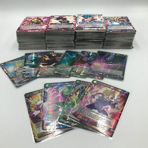 Lot 40 Cartes DRAGON BALL SUPER CARD GAME DBZ / Françaises 0 Double NEUF + Rare