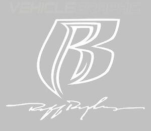ruff ryders vehicle vinyl decal sticker