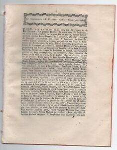 1787-RARE-FACTUM-BIENVILLE-MAITRE-DE-FORGES-HAUTE-MARNE-BIENVILLE-MARNAVAL-ETC
