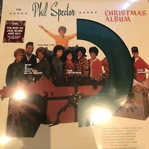 Phil-Spector-A-Christmas-Gift-For-You-2018-Green-Vinyl-Album-lp-New
